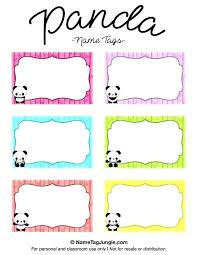 Avery Badge Templates Avery Template Name Tags Color Block Tag Label Templates For