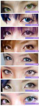 21 Abiding Colorblends Contacts Color Chart