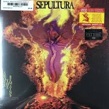 <b>Sepultura</b> - <b>Above The</b> Remains Sealed LP (Red Vinyl) - Vintage Vinyl