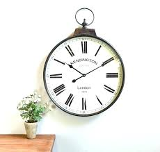 vintage wall clocks oversized vintage wall clock antique large wall clocks antique brass pocket watch wall clock antique large large vintage wall clocks