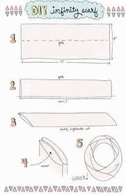 Infinity Scarf Length And Width Chart Google Search