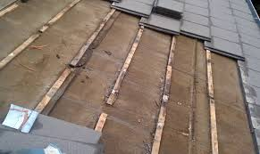 wood battens become saturated and then hold moisture leading to pre rotting of felt underlayment and roof