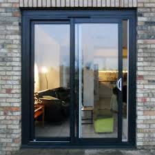 sliding doors.  Sliding Aluminium Sliding Doors To N