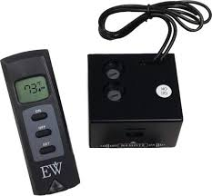 gas fireplace remote thermostat control logs fine installation majestic manual