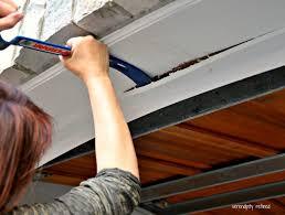 garage door side sealSerendipity Refined Blog How To Replace A Garage Door Weather Seal