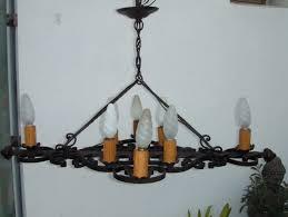 wrought iron chandeliers uk
