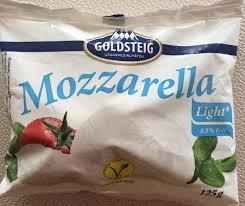 Mozzarella Light Nutrition Facts Mozzarella Light Open Food Facts