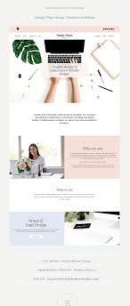 Pish And Posh Design Studio Site Showcase Simply Whyte Design Web Design Agency