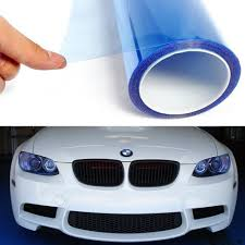 Car Light Film Buy Light Blue 12 By 48 Inches Self Adhesive Headlight