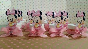 Minnie Mouse Baby Shower Decorations Baby Minnie Mouse Baby Shower Party Favors Baby Shower Favors