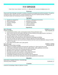 salon assistant resume sample hairsstyles co