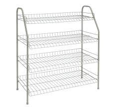 closetmaid wire rack wire shoe rack 4 shelf ventilated storage home organizer shelves new closetmaid wire