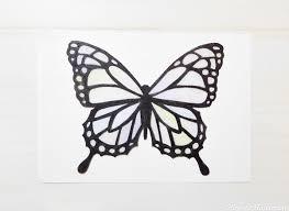 ダイソーのプラバンで蝶の作り方立体的にする方法と型紙の取り方 How
