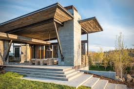 rustic modern residential architecture. Brilliant Residential Rustic Modern Vacation Home In Jackson Hole Wyoming 2 And Residential Architecture Y