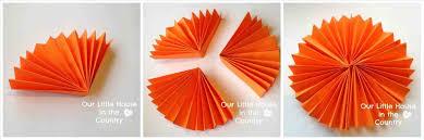 cream off rainbow diy paper fan decorations fan garland easy diy party decoration ice cream off