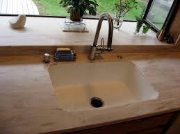 corian integrated kitchen sinks