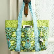 Tote Bag Pattern Enchanting A Simple SixPocket Bag Better Homes Gardens