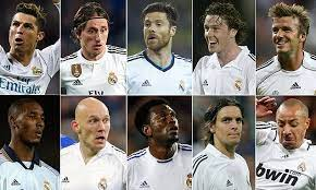 Real madrid has the best strategies, the best players with the best skills but real meaning royal in spanish was bestowed on the club by king alfonso xiii, thus the royal crown in their emblem. The Best And Worst Players Real Madrid Have Signed From The Premier League Daily Mail Online