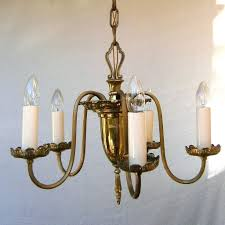 chandelier with tea lights real candles colonial candle chandeliers diy flameless non electric lighting art deco
