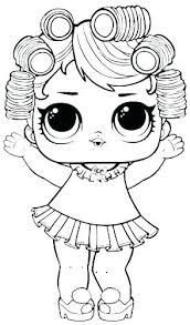 Lol Dolls Coloring Pages Westtraverseinfo
