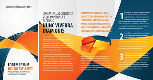 Tri Fold Brochure Vector At Getdrawings Com Free For Personal Use
