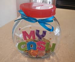 How To Decorate A Jar Decorated Money Jar My Kid Craft 49