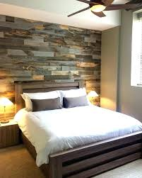 bedroom feature wall design master pallet wood accent wall bedroom