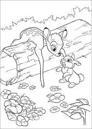 Bambi Kleurplaat 11