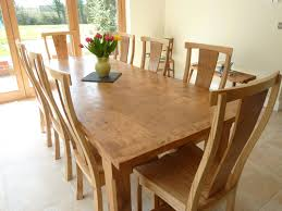 simple pippy oak dining table and chairs oversized dining table
