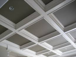 ... Top Notch Home Interior Design And Decoration With Modern Coffered  Ceiling Ideas : Elegant Image Of ...