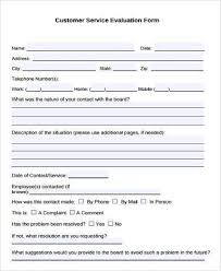 Sample Customer Appraisal Forms 8 Free Documents In Word Pdf
