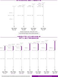 X Pole Height Chart X Pole Xpert Pro Chrome With X Lock
