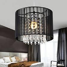 details about modern drum pendant light shade crystal ceiling lamp chandelier fixture light vp