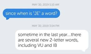 new words with friends 2 letter words