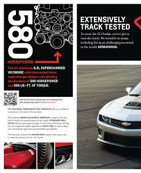 Check Out the 2012 Chevrolet Camaro ZL1 Coupe's Official Brochure ...