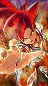 Goku Super Saiyan God iPhone Wallpaper ...