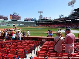 Fenway Park View From Dugout Box 56 Vivid Seats