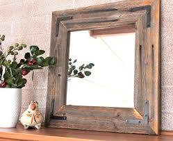 wood mirror frame. Wooden Mirror Frame Best 25 Wood Ideas On Pinterest Mirrors Reclaimed