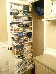 over the door storage baskets over the door basket organizer ways to upgrade your coat closet