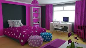 bedroom ideas for teenage girls purple and pink. Fine Girls Round Pink Rugs White Wooden Doors Purple And Black Bedroom Ideas  Mattress Covers On For Teenage Girls