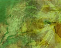 tree abstract sunlight texture leaf green color terrain painting background strokes modern art impressionist acrylic paint