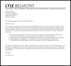 Hotel Manager Cover Letter Sample Ideas Of Cover Letter Hotel