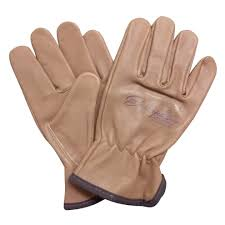heavy duty goatskin leather work gloves for men and women general purpose utility driver