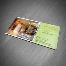 Interior Designer Business Cards Inspiration Business Card Design Services Creating Designs You'll Love