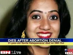 Image result for death india abortion ireland