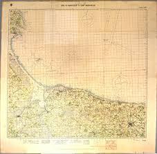 D Day Map Firing Plan Uss Texas Bb 35