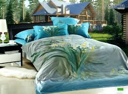 turquoise queen quilt bedding sets fl blue green turquoise calla comforters bedding sets queen comforter set
