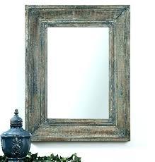 distressed mirror tiles black distres mirror wall mirrors aged mirror tiles wood framed black bathroom with