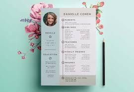 Dating Resume Profile Design Shira Ink