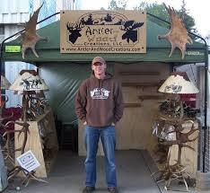 Diy Antler Coat Rack Antler and Wood Creations LLC 87